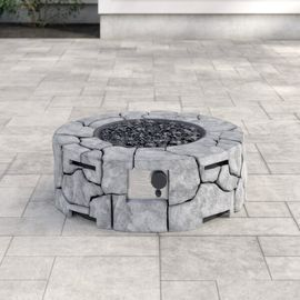 Terrill Concrete Propane Fire Pit