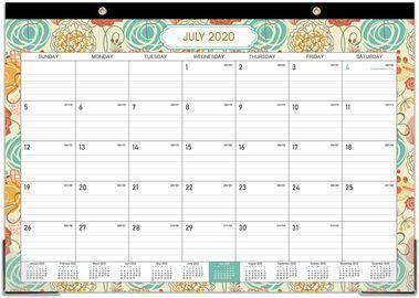 2020-2021 18 Months Desk Calendar