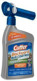 Cutter Backyard Bug Control 32-fl oz Concentrate Insect Killer
