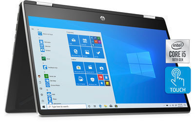 HP Pavilion 14 Full HD X360 2-in-1 Laptop w/ Intel Core i5-1035G1, 8GB SDRAM +  256GB SSD