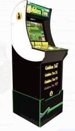 Golden Tee Arcade1Up Cabinet w/ Riser