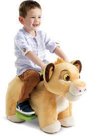 Disney Lion King Simba 6V Plush Ride-On Toy