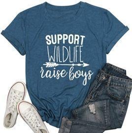 Support Wildlife Raise Boys T-Shirt