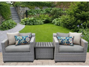 Merlyn 3 Piece Seating Group with Cushions