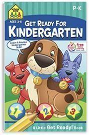 School Zone - Get Ready for Kindergarten Workbook