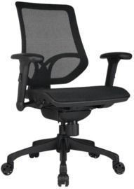 WorkPro 1000 Series Mesh Mid-Back Office Chair, Black