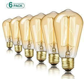 60W Edison Bulb - 6pk