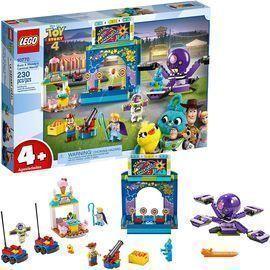 LEGO 230pc Disney Pixars Toy Story 4 Buzz Lightyear & Woodys Carnival Mania 10770  Building Kit