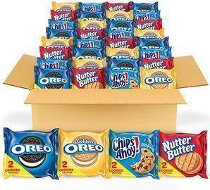 56-Pack Nabisco 2-Cookie Snacks Variety Pack