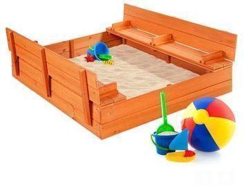 Kids Cedar Sandbox