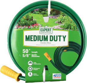 Expert Gardener Medium Duty 5/8 x 50-foot Garden Hose