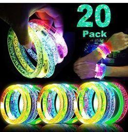 20 Glow Bracelets