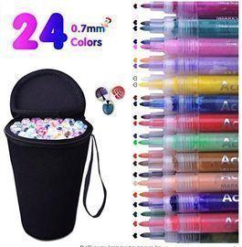 Acrylic Paint Marker Pens - 24ct