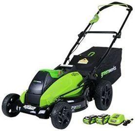 Greenworks 19-Inch 40V Brushless Cordless Lawn Mower