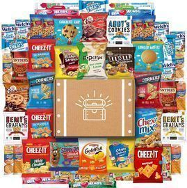 Cookies, Chips and Candies Snacks 50-Count