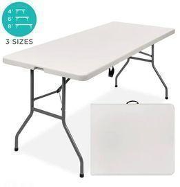 6ft Portable Folding Plastic Dining Table