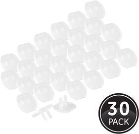 GE, Clear Child Safety, 30 Pack, Covers