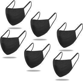 6 Pack Cotton Unisex Face Masks