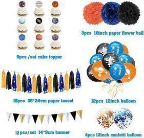 55pc Party Decoration Supplies