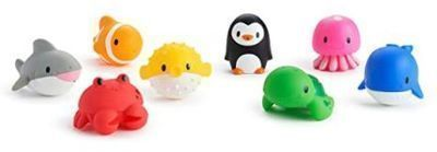 Munchkin Ocean Squirts Bath Toy - 8 pack