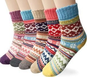 Loritta Women's Wool Socks - 5 Pack