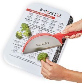 Instant Pot Official 10x14 Cutting Mat with Cook Times