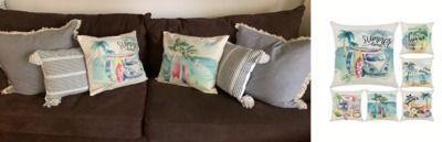 18x18 Summer Pillow Covers - 6pk