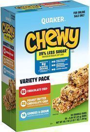 Quaker Chewy Granola Bars 58-Pack