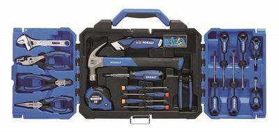 Kobalt 121 pc. Household Tool Set w/ Folding Case