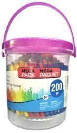 Crayon Bucket w/ 200 Crayons