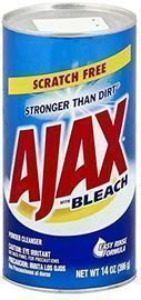 Ajax Powder Cleanser w/ Bleach 14-oz. Can