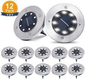 12pk Solar Ground Lights