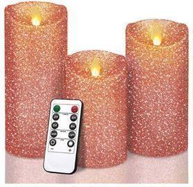 Glitter LED Candles