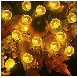 Pumpkin String Lights - 2 Pack