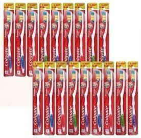 18 Pack Of Colgate Premier Extra Clean Toothbrushes