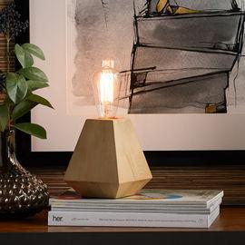 MoDRN Naturals Wood Uplamp w/ Edison Style LED Bulb