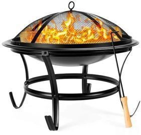 Steel Outdoor Patio Fire Pit Bowl