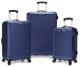 Travel Select Savannah 3pc Hardside Luggage Set
