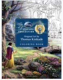 Disney Dreams Collection Thomas Kinkade Coloring Book