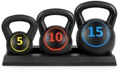 3-Piece Kettlebell Set