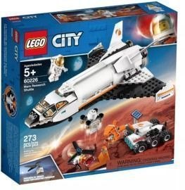 LEGO City Space Mars Research Shuttle Space Shuttle w/ Mars Rover