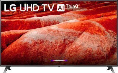 LG 86 86UM8070 4K UHD HDR ThinQ AI Smart LED HDTV