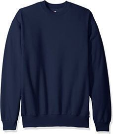 Hanes Men's Ecosmart Fleece Sweatshirt (Navy)