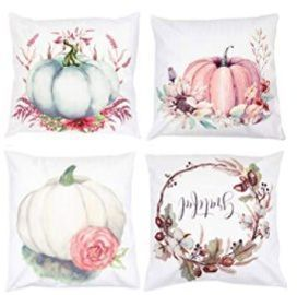 18x18 Fancy Fall Pillow Covers