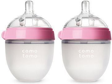 2-Pack Comotomo Silicone Baby Bottles