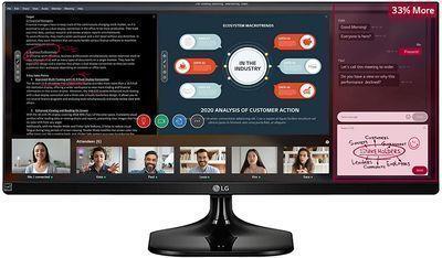 LG 25 UltraWide 1080p IPS Monitor
