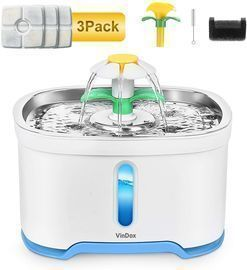 VinDox Pet Water Fountain w/ Light