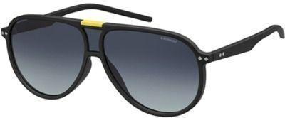 Polaroid Men's Polarized Flat Top Pilot Sunglasses