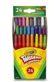 Crayola Twistables Crayons - 24 ct