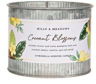 Citronella Candle - Coconut Blossom